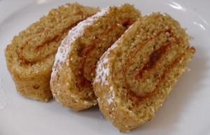 Roulade mit Marmelade