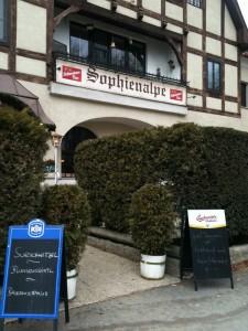 Restaurant Sophienalpe im Wienerwald