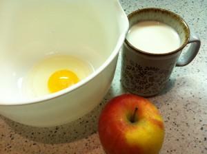 Zutaten Apfelspalten