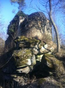 Sehr alte Kapelle im Wald bei Pernegg