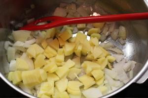 Zwiebel und Kartoffel